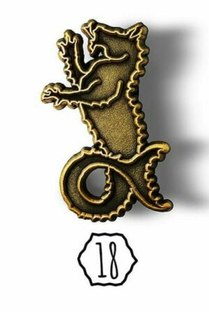 Herman the Hippocampus Pin
