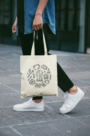 The Ackerly Green Tote Bag