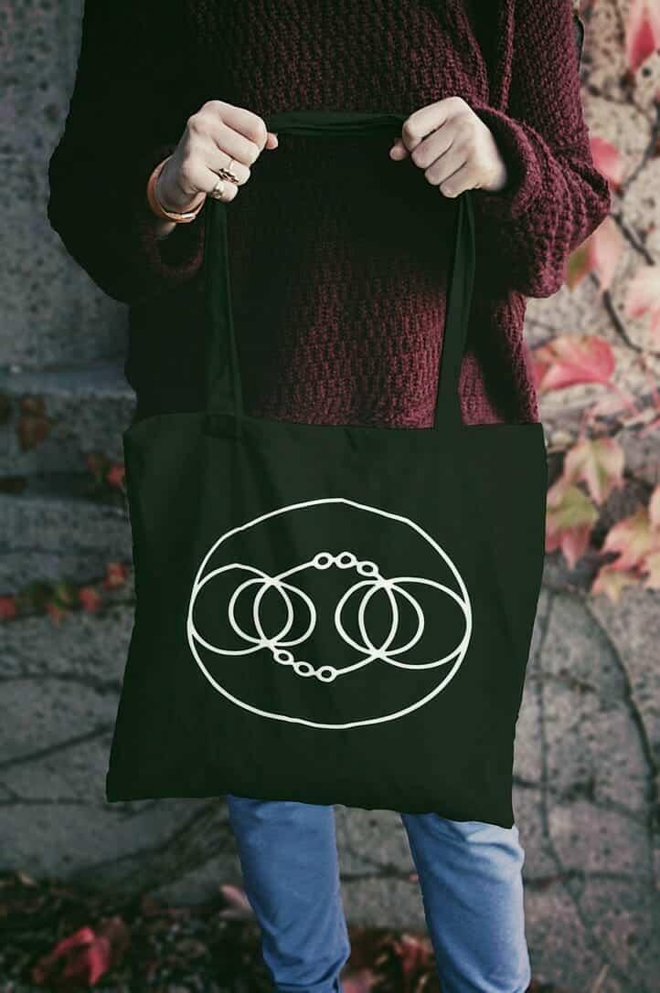 Alchemical Symbol Tote Bags